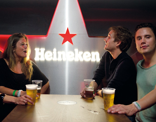 Heineken backstage