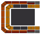 Seating Plan Symphonica in Rosso