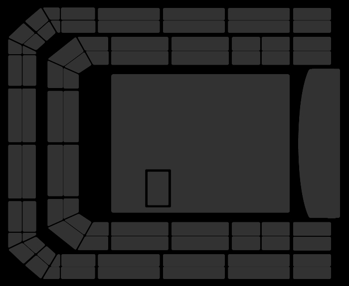 Seating Plan The Black Keys