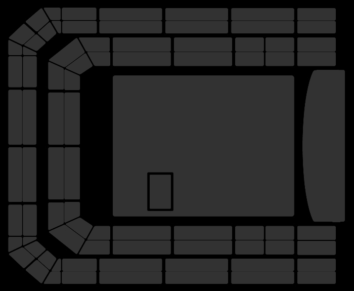 Seating Plan Dead Man's Curse