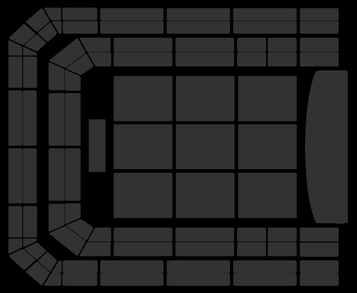 Seating Plan Disney in Concert