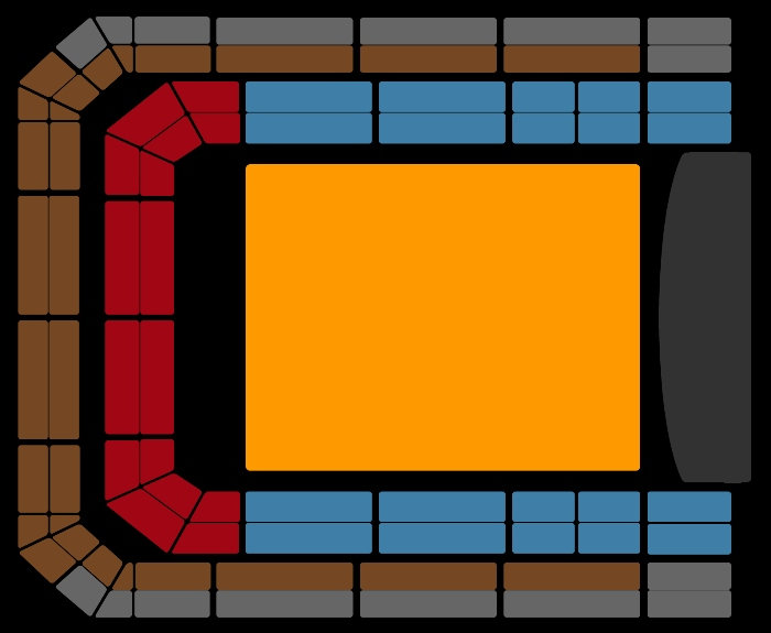 Seating Plan Eros Ramazzotti