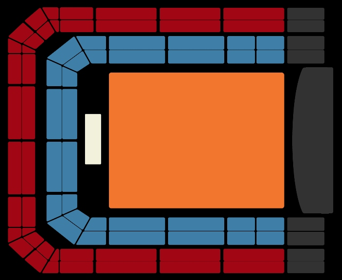 Seating Plan Foo Fighters