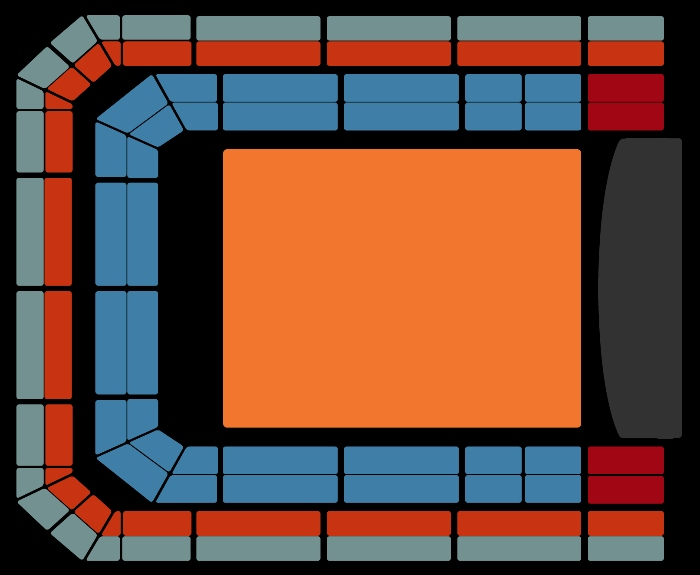 Seating Plan Musicals in Concert
