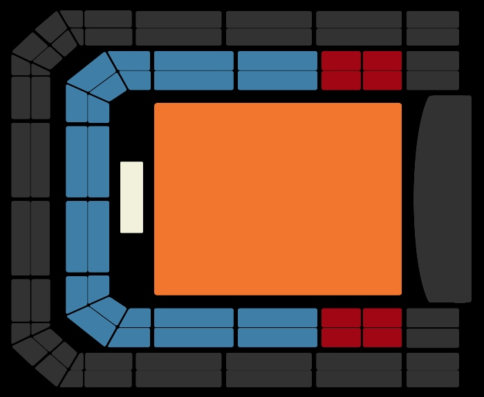 Seating Plan alt-J