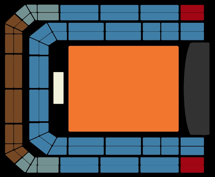 Seating Plan Madonna