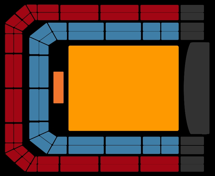 Seating Plan Florence + The Machine