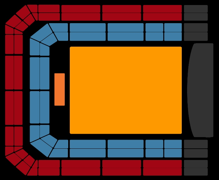 seating Plan Golden Earring