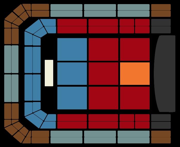 Seating Plan Kevin Hart