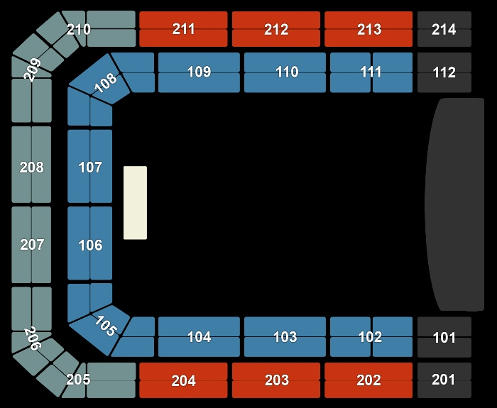 Seating Plan Janet Jackson