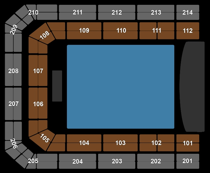 Seating Plan Symphonica in Rosso - Marco Borsato