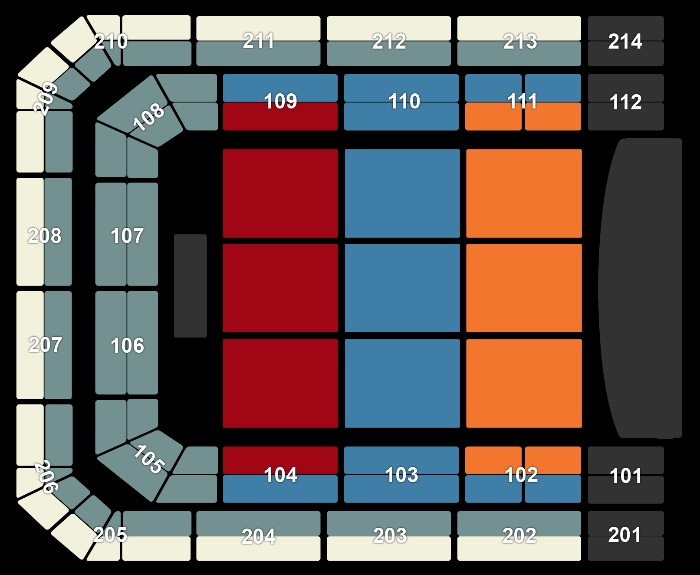 Seating Plan Ennio Morricone