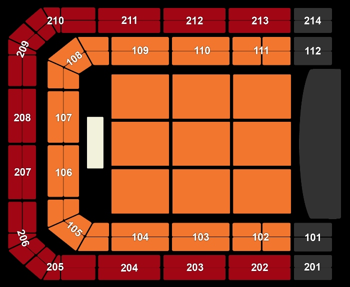 Seating Plan Jeff Lynne's ELO