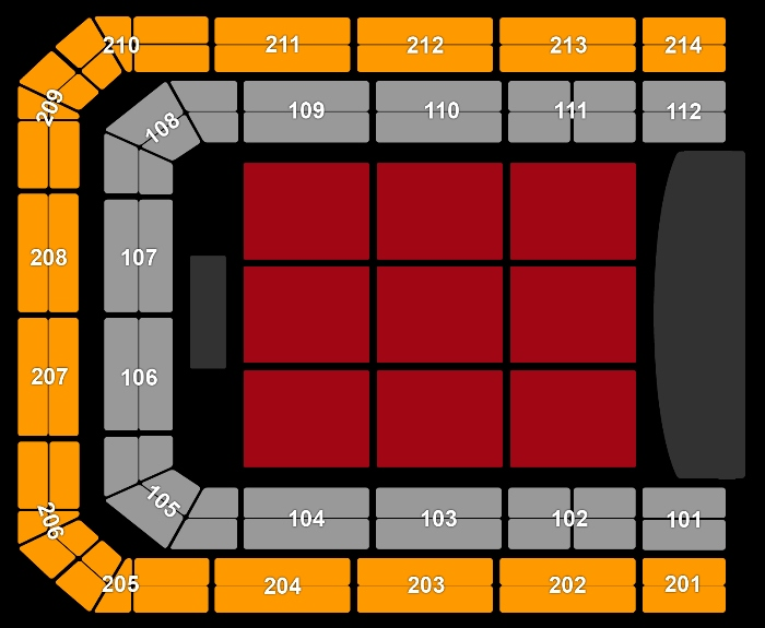 Seating Plan Louis C.K.