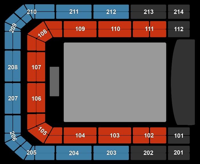 Seating Plan Selena Gomez