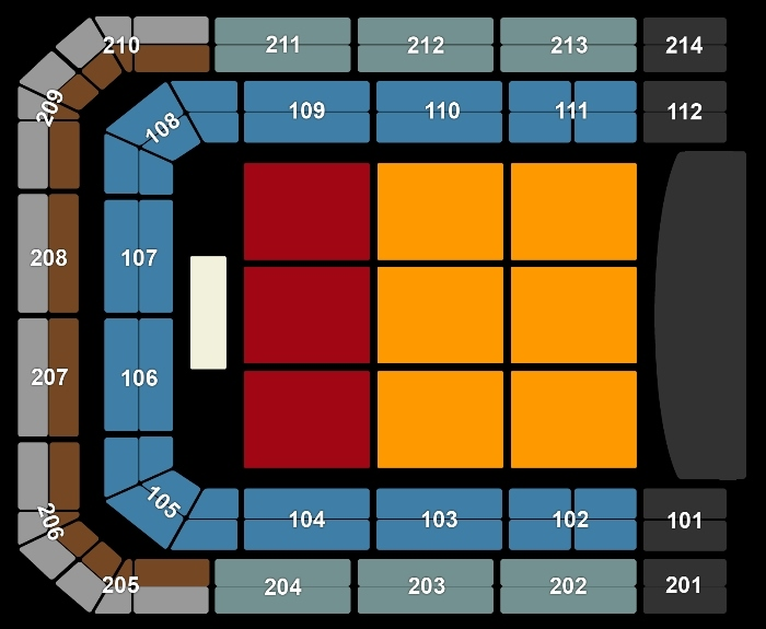 Seating Plan GABBERS