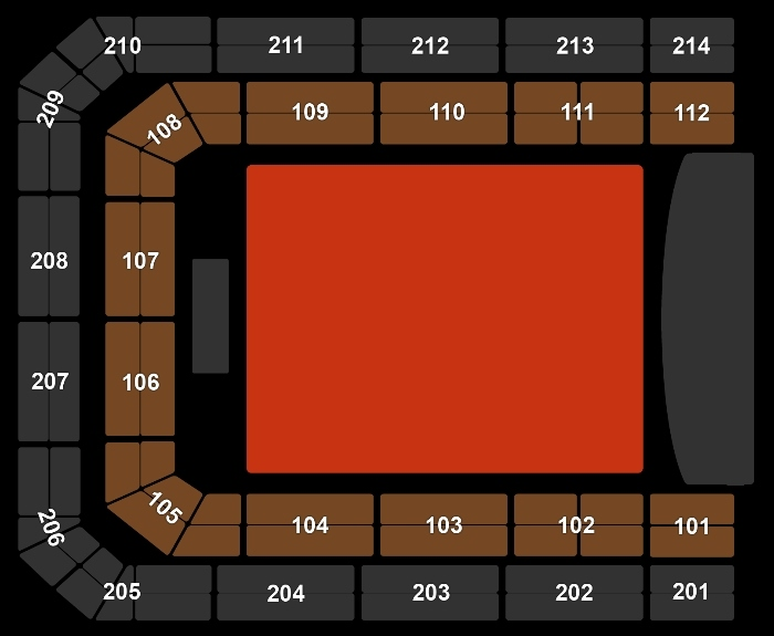 Seating Plan Above & Beyond