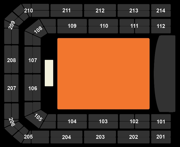 Seating Plan Let's Dance