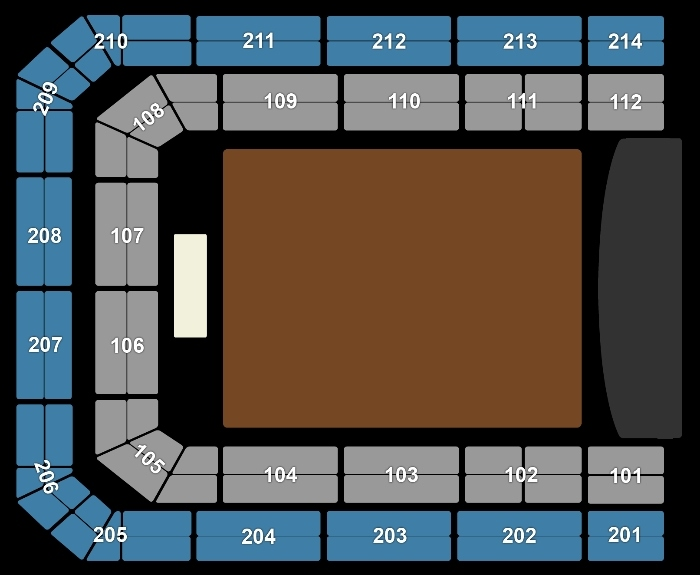 Seating Plan Bastille