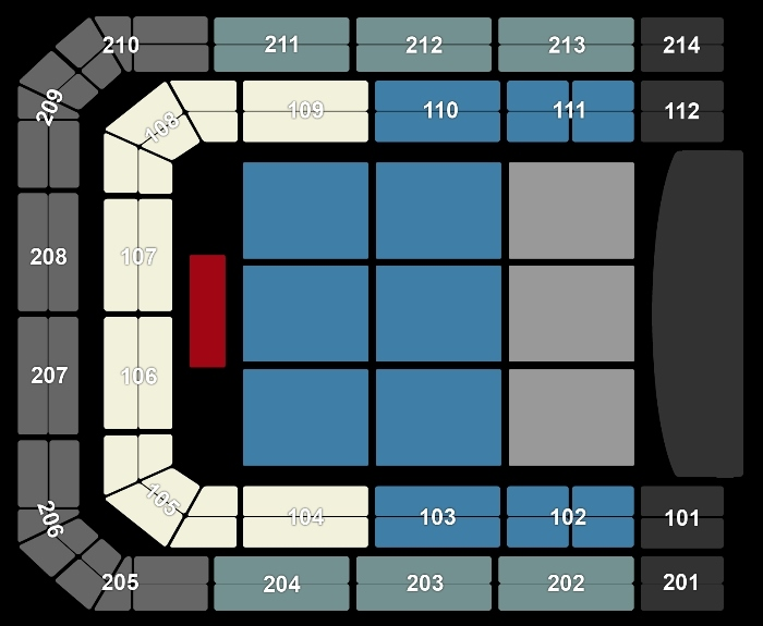 Seating Plan Hans Zimmer