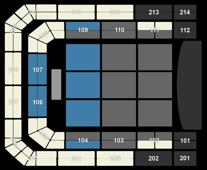 Seating Plan Joe Bonamassa