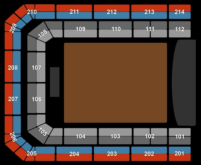 Seating Plan Holland Zingt Hazes