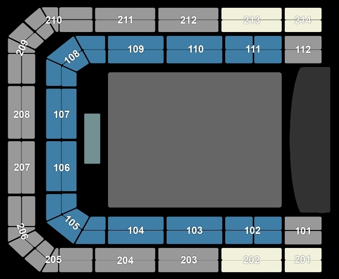 Seating Plan The Weeknd