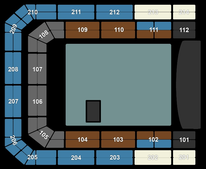 Seating Plan John Mayer
