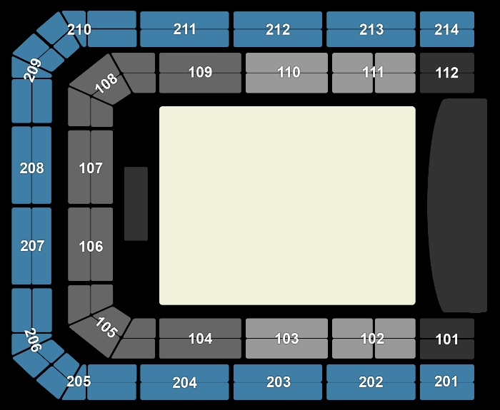 Seating Plan Ed Sheeran