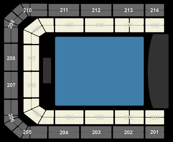 Seating Plan Kensington