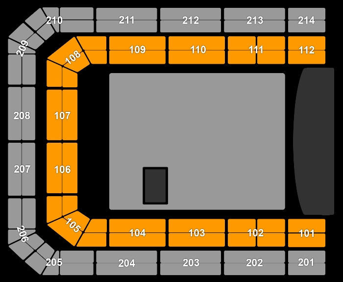 Seating Plan Marco Borsato & Friends
