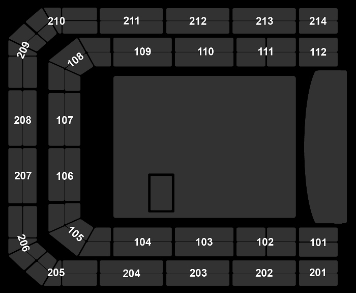 Seating Plan Bryan Adams