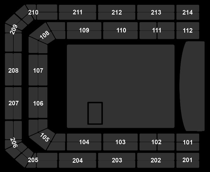 Seating Plan Nickelback
