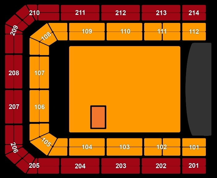 Seating Plan Kygo