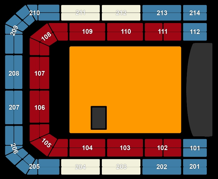 Seating Plan Depeche Mode