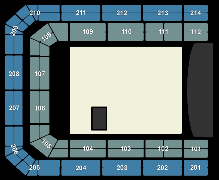 Seating Plan BLØF