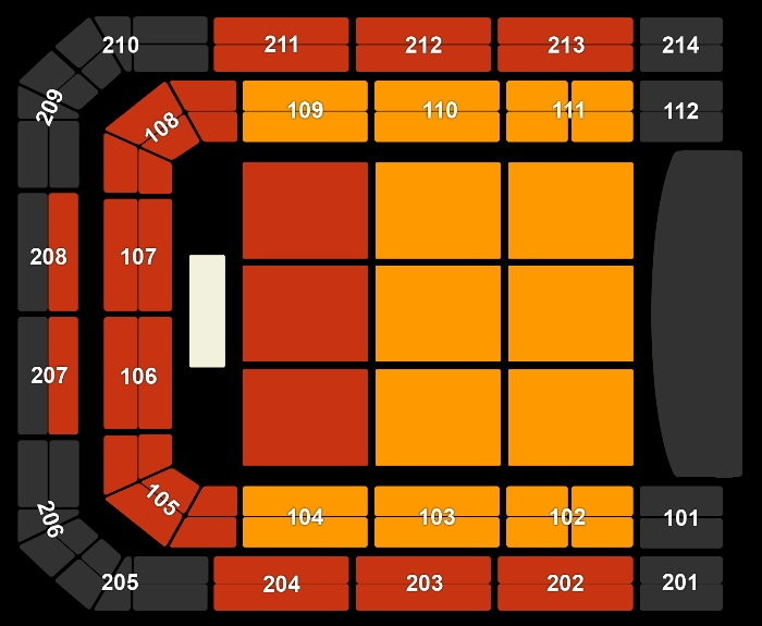 Seating Plan Beth Hart