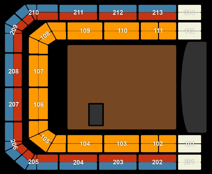 Seating Plan Ladies of Soul