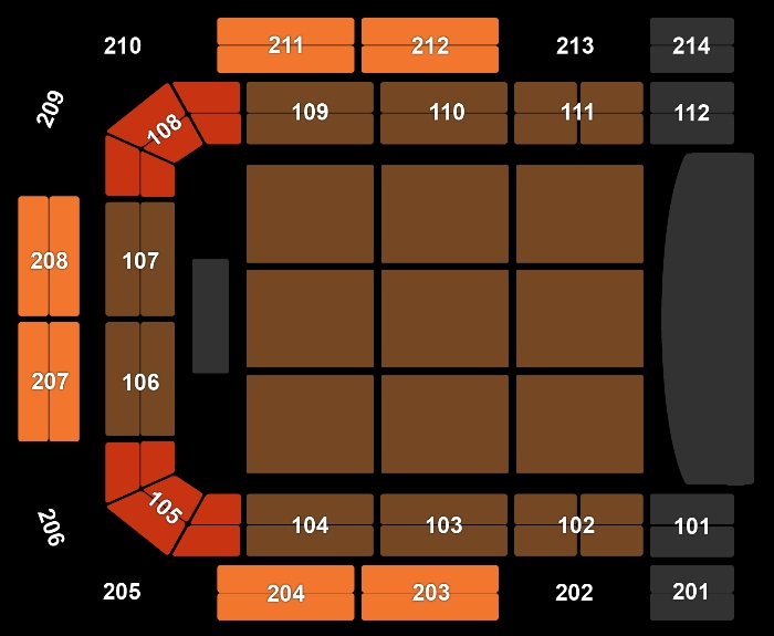 seating Plan Santana