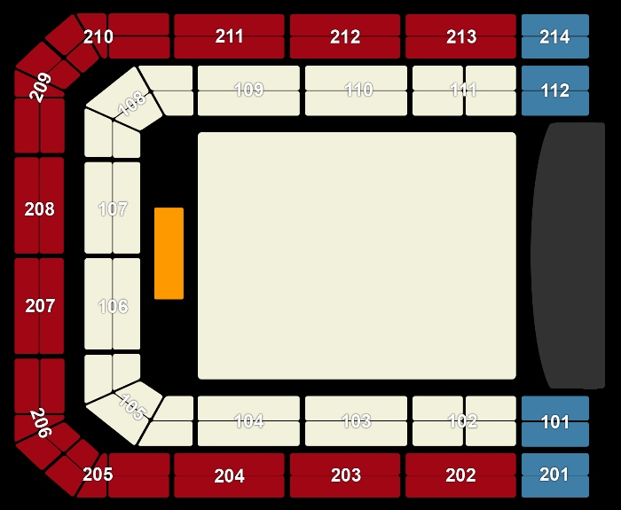 Seating Plan Pete Tong presents Ibiza Classics