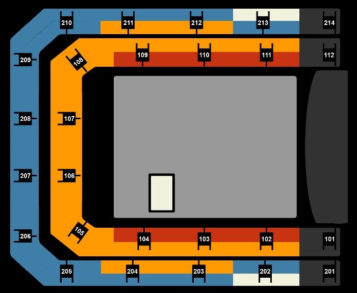 Seating Plan Hardwell & Metropole Orchestra