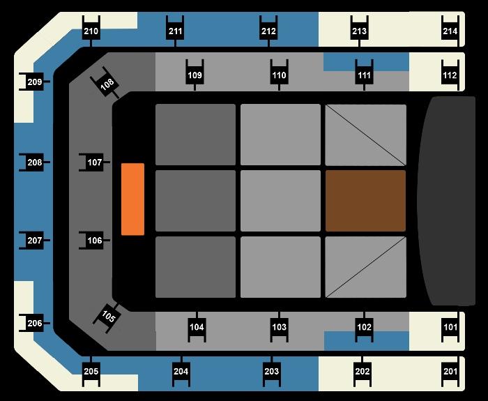 Seating Plan Rod Stewart
