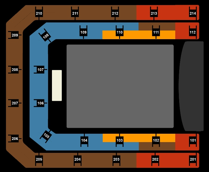Seating Plan Enrique Iglesias