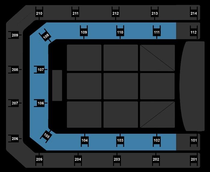 Seating Plan The Christmas Show (11:00)