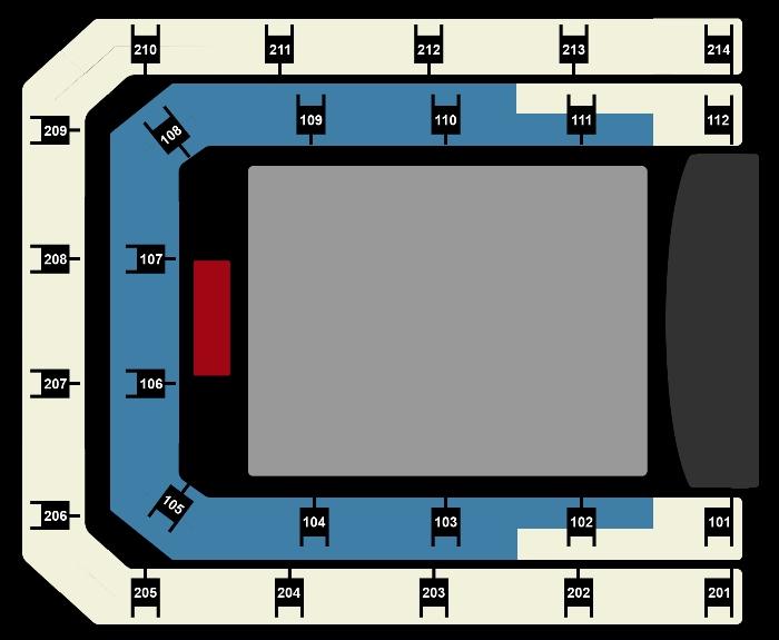 Seating Plan Het Muziekfeest van het Jaar