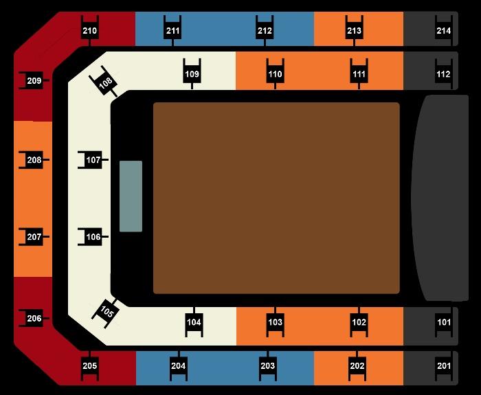 Seating Plan Eros Ramazzotti
