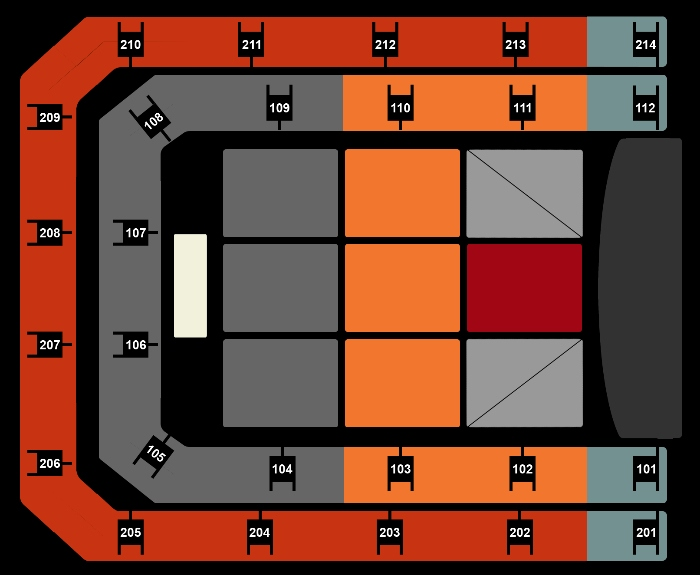 Seating Plan The World of Hans Zimmer