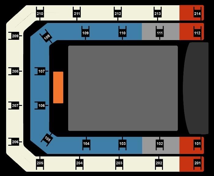 Seating Plan Nicki Minaj ft. Juice WRLD