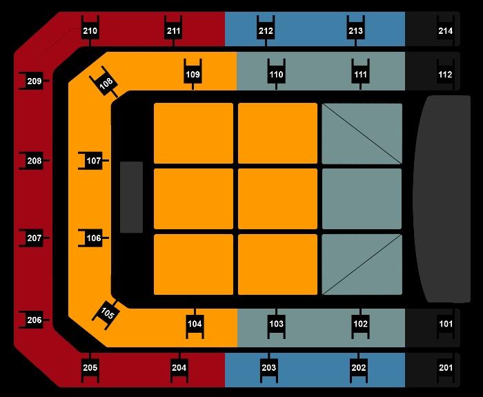 Seating Plan Shawn Mendes