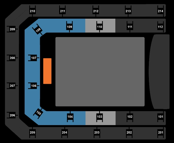 Seating Plan Nicki Minaj ft. Juice WRLD